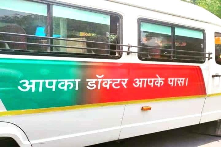 India's 'Doctor On Wheels' movement to treat Covid-19 patients now reaches Uttar Pradesh.(photo:India Narrative)