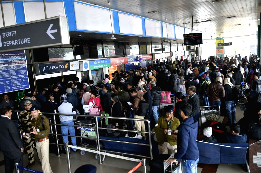 India's domestic air passenger traffic increased 9.10 per cent on a year-on-year basis in January 2019, official data showed on Wednesday. (Photo: IANS)