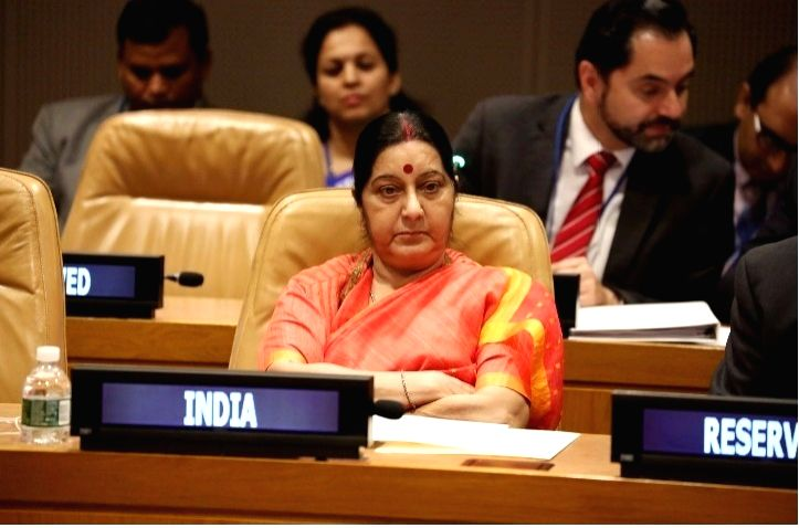 India's External Affairs Minister Sushma Swaraj reiterated India's commitment to the Palestine cause at a meeting of the Nonaligned Movement's Ministerial Committee on Palestine on Tuesday, Sept. 19, ... - Sushma Swaraj