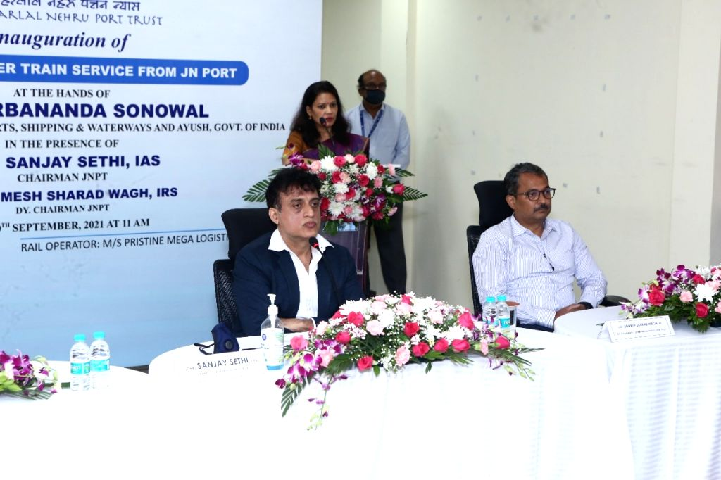 India's first Dwarf Container Train starts from JNPT Mumbai.