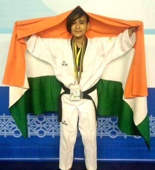 India's first taekwondo athlete enters Paralympics