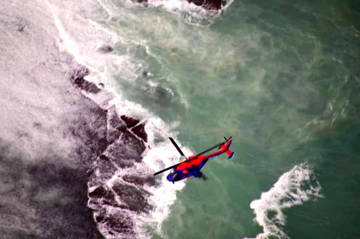 India's indigenous choppers carry out rescue operation in Mauritius.