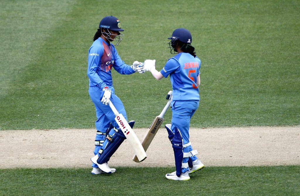 India's Jemimah Rodrigues and Smriti Mandhana. (Photo: Surjeet Yadav/IANS) - Surjeet Yadav