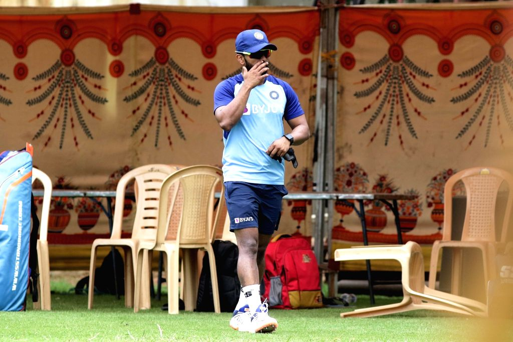 India's Kedar Jadhav during a practice session ahead of the 1st one-day international (ODI) match against West Indies, at MA Chidambaram Stadium in Chennai on Dec 13, 2019.