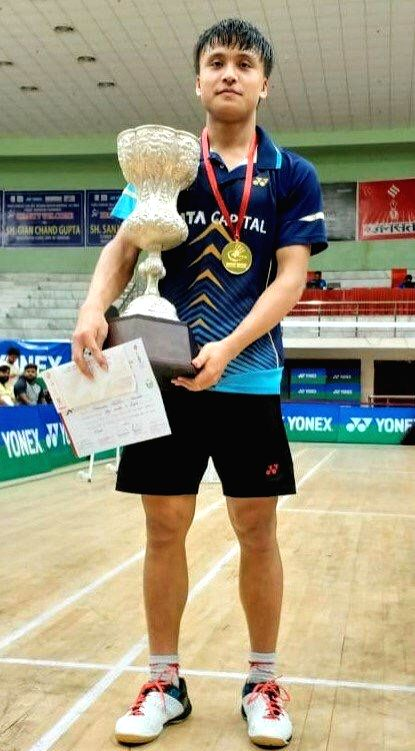 India's Maisnam Meiraba after defeating Romania???s Teodor Cioroboiu 21-4, 21-3 on the first day of the 21st edition of BWF World Junior Championships in Kazan, Russia on Oct 7, 2019.