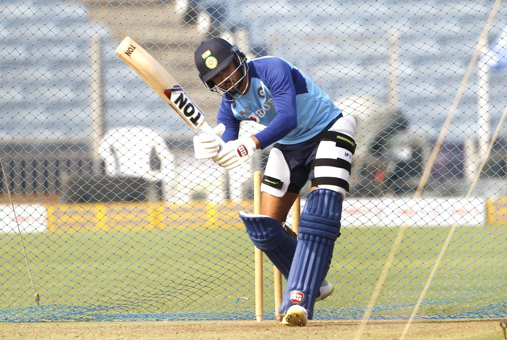 India's Manish Pandey during a practice session ahead of the 3rd T20I match against Sri Lanka at the Maharashtra Cricket Association Stadium in Pune on Jan 9, 2020. - Manish Pandey