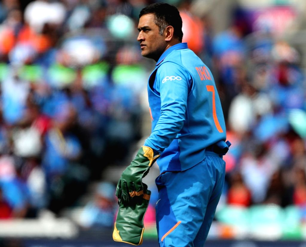 India's MS Dhoni. (Photo: Surjeet Yadav/IANS) - MS Dhoni and Surjeet Yadav