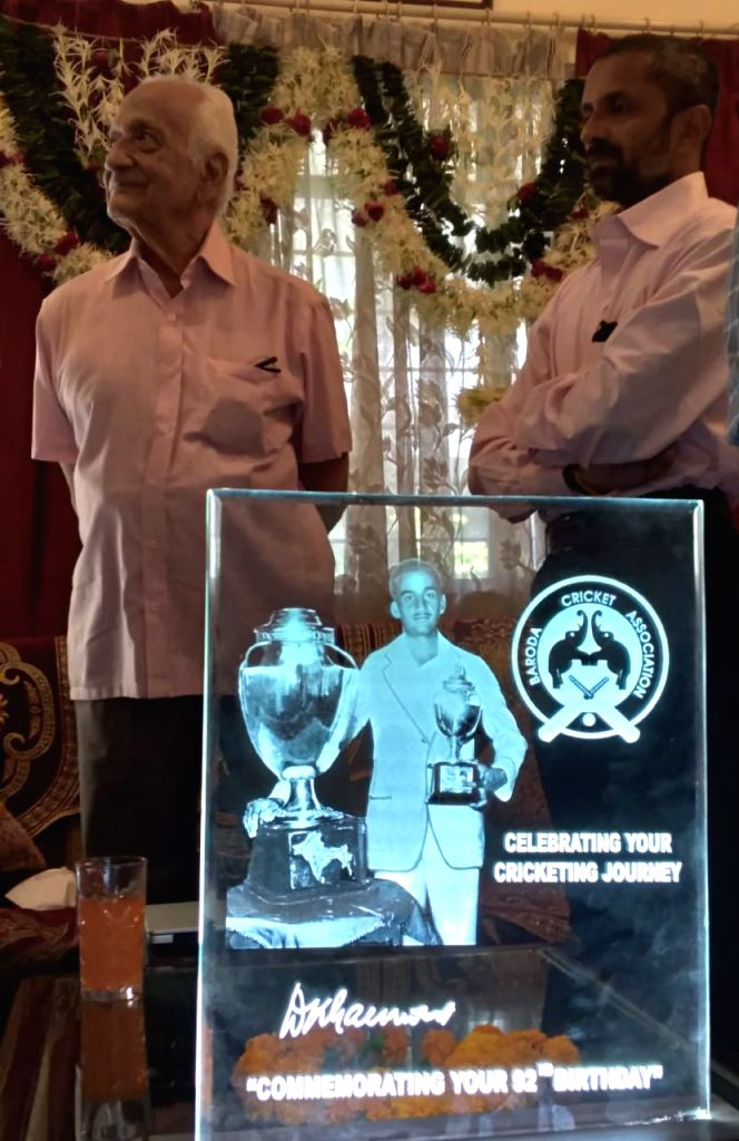 India's oldest Test cricketer DK Gaekwad turns 92, has sharp memory