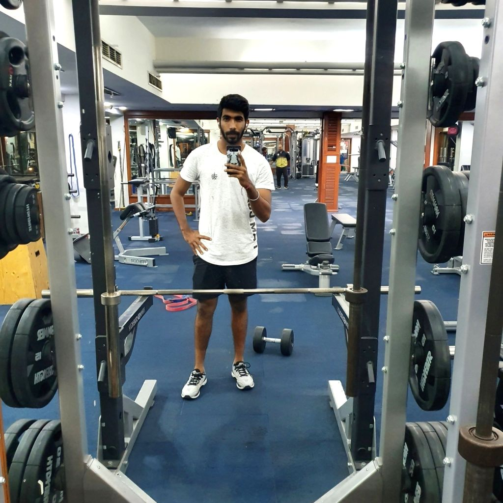 """India's pace sensation Jasprit Bumrah is """"coming soon"""", he tweeted on Tuesday with a picture of him working out at a gym."""