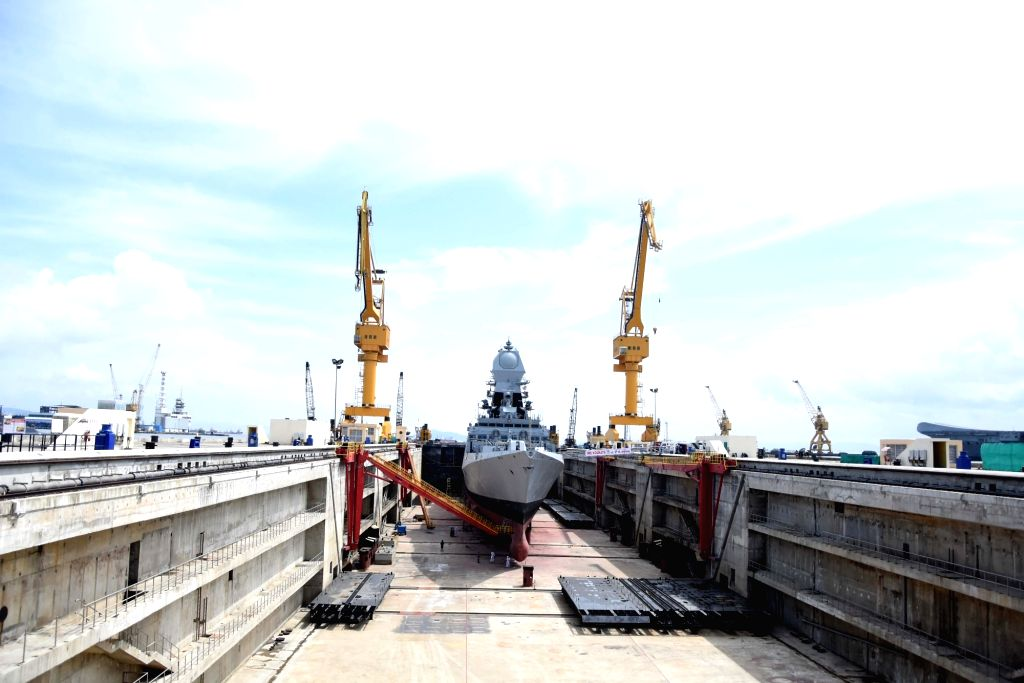 India's second Scorpene-class attack submarine INS Khanderi that was commissioned into the Indian Navy by Defence Minister Rajnath Singh during a ceremony, at the Mazagon Docks in Mumbai on ... - Rajnath Singh