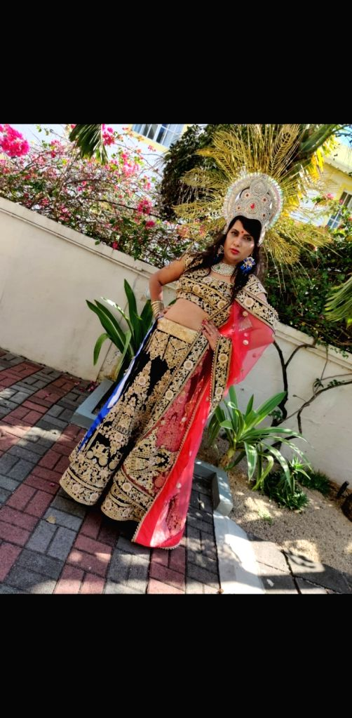 India's transsexual woman Naaz Joshi has made the country proud with a third successive victory in the beauty pageant Miss World Diversity. - Naaz Joshi