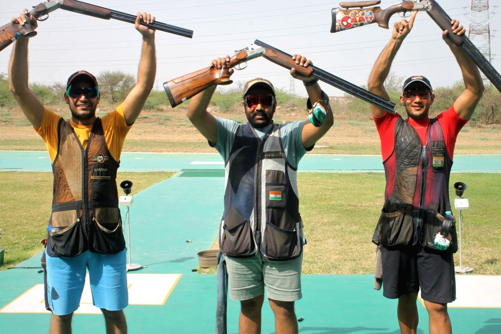 India sign off with double gold in New Delhi Shooting World Cup