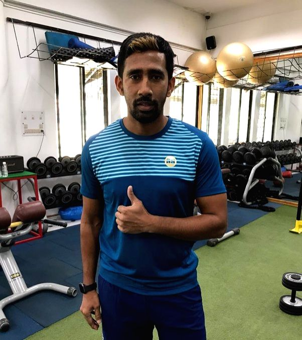India Test wicket-keeper Wriddhiman Saha.