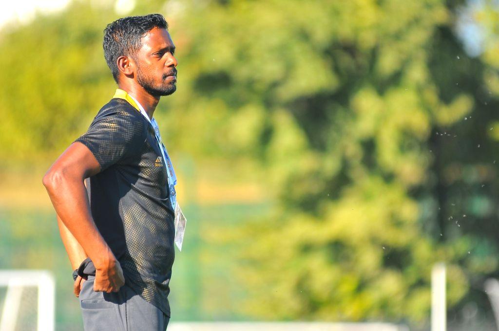 India U-16 national football team head coach Bibiano Fernandes. - Bibiano Fernandes