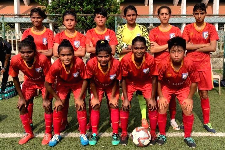 India U-17 women's football team. (File Photo: IANS)