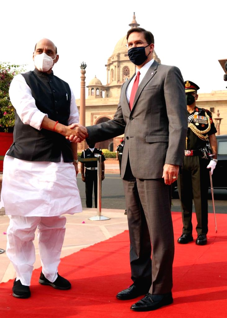 India, US hold Defence Minister-level talks.