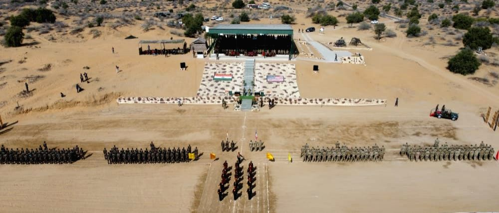 India US joint military exercise concludes.