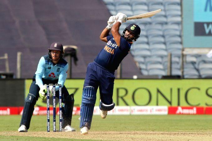 India vs England, 3rd ODI. (Credit: BCCi Twitter)