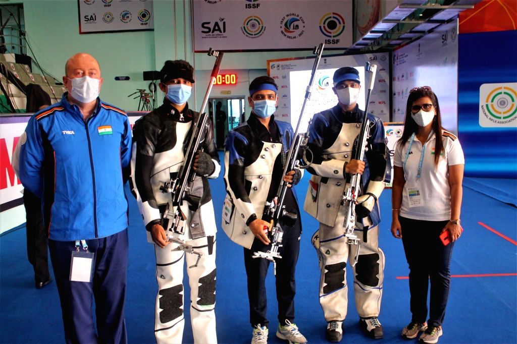 India win 2 more gold in shooting World Cup