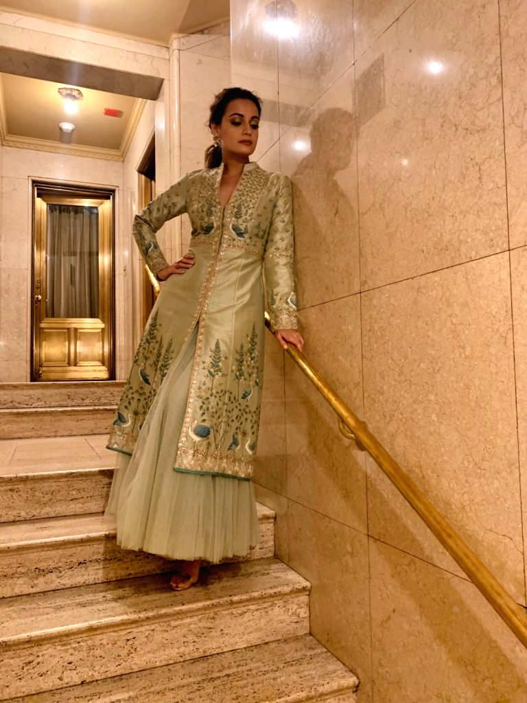 Indian actress Dia Mirza and American actor Alec Baldwin hosted United Nations' Champions Gala 2019 for the second time here. She is happy to have shared the stage with the comedian, who she thinks ... - Dia Mirza