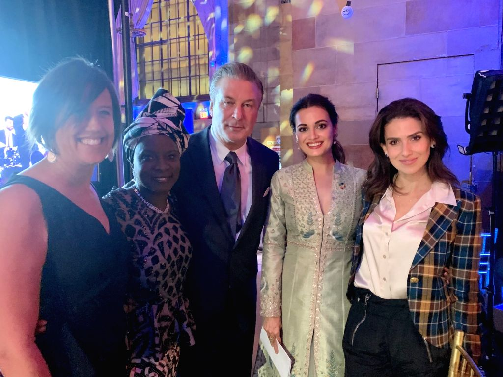 "Indian actress Dia Mirza and American actor Alec Baldwin hosted United Nations' Champions Gala 2019 for the second time here. She is happy to have shared the stage with the comedian, who she thinks is ""so driven, honest and committed to sustainabilit - Dia Mirza"