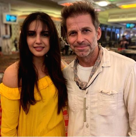 """Indian actress Huma Qureshi has completed her work on American filmmaker Zack Snyder's Netflix original film, """"Army Of The Dead"""". - Huma Qureshi"""