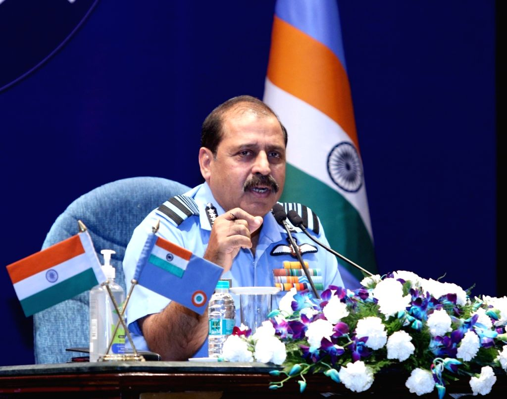 Indian Air Force Chief Air Chief Marshal RKS Bhadauria