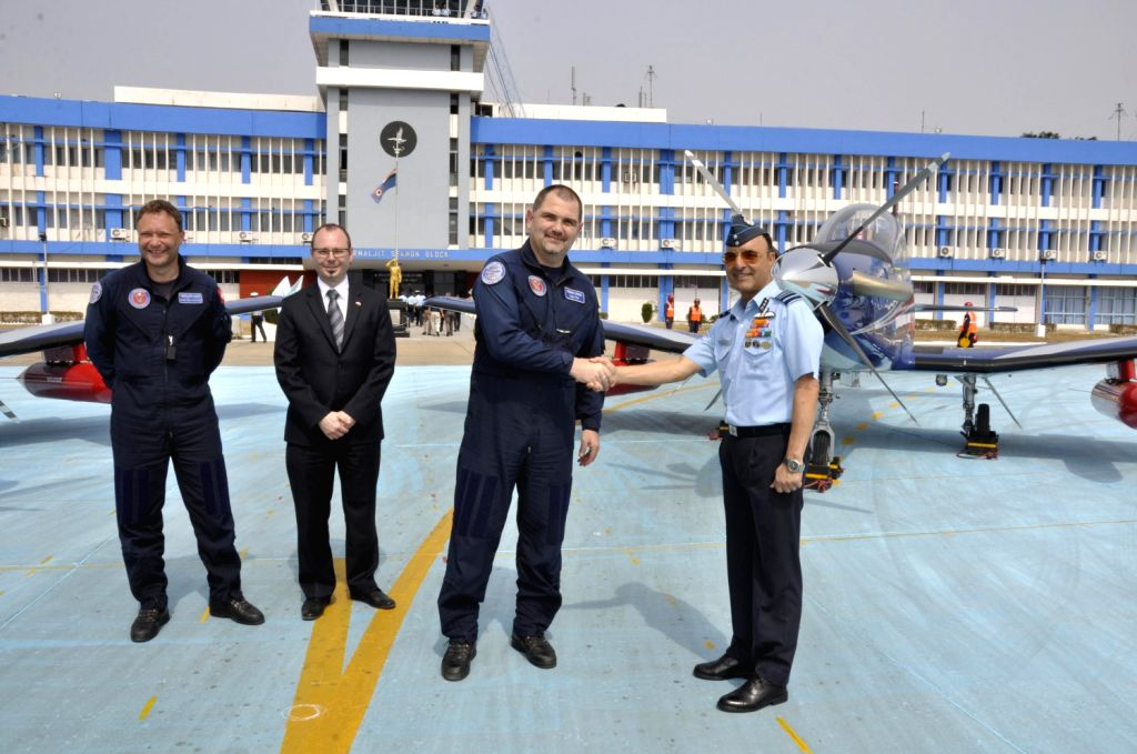 Indian Air Force has received its the first lot of the new basic trainer aircraft `PC-7 Mk-II` produced by the Pilatus aircraft company of Switzerland which arrived on 2nd Feb at the Air Force ...