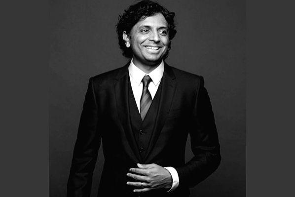 Indian American filmmaker M. Night Shyamalan.