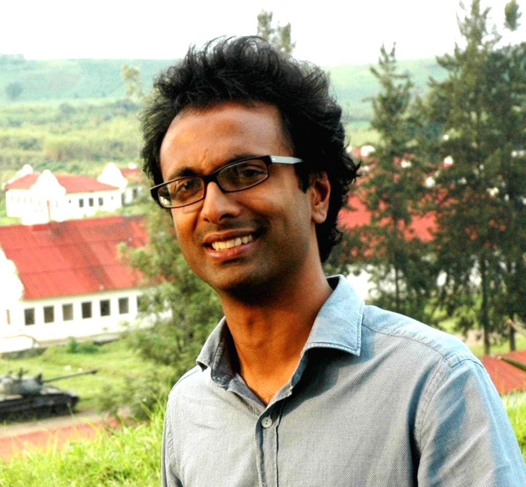 Indian-American journalist and writer Anjan Sundaram who has long reported from central Africa