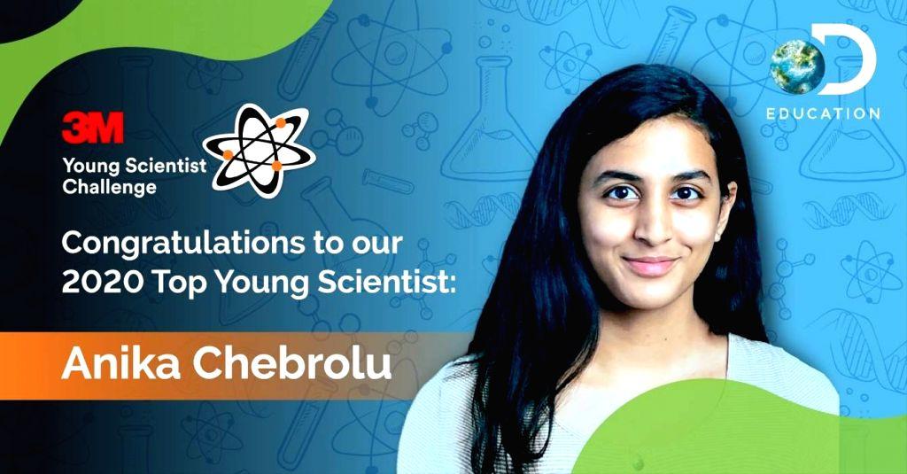 Indian-American teenager scientist Anika Chebrolu wins $25,000 prize