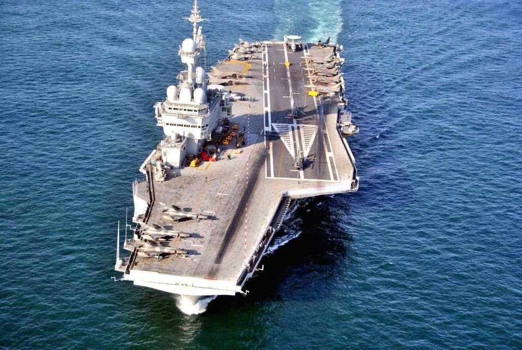 Indian, French ships embark on sea phase of 'Varuna