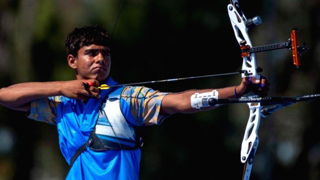 Indian archer Akash Malik. - Malik