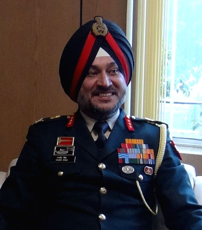 Indian Army appointed Lt General Ranbir Singh as new General Officer Commanding of Strike 1 Corps on Nov 30, 2016. (File Photo: IANS) - Ranbir Singh