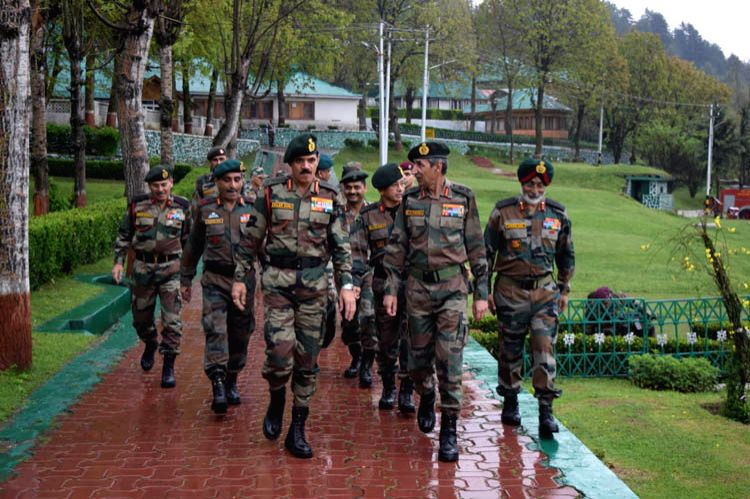 Indian Army chief General Dalbir Singh on Tuesday visited the Kashmir Valley - Dalbir Singh