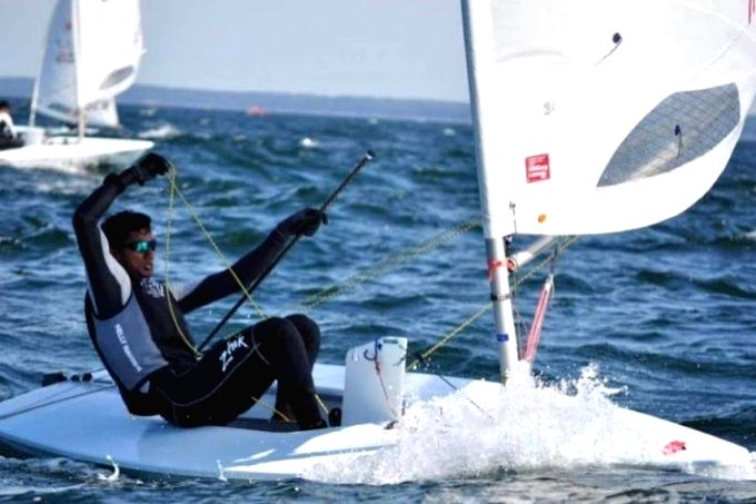 Indian Army JCO Subedar VISHNU SARAVANAN, 22, of Army Yachting Node, Mumbai, became the youngest ever Indian sailor to qualify in the sailing discipline for the upcoming Tokyo Olympics.
