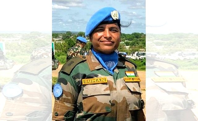 Indian Army Major Suman Gawani, who was deployed as a military observer with the United Nations Mission in South Sudan, has been awarded the 2019 UN Military Gender Advocate of the Year Award. (Photo: UN/IANS)