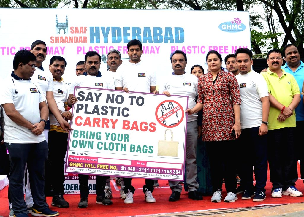 Indian badminton chief national coach Pullela Gopichand during a programme in Hyderabad on May 12, 2019.