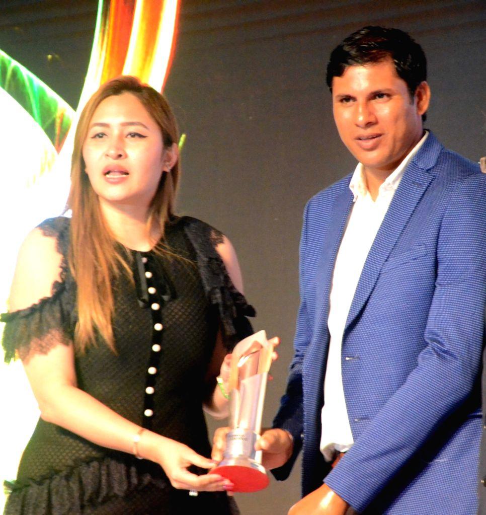 Indian badminton player Jwala Gutta during Sports Illustrated award ceremony in Mumbai, on July 6, 2017.