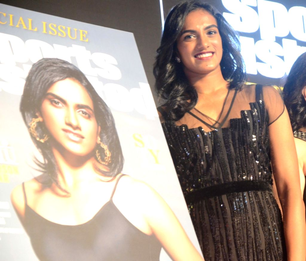 Indian badminton player PV Sindhu during Sports Illustrated award ceremony in Mumbai, on July 6, 2017.