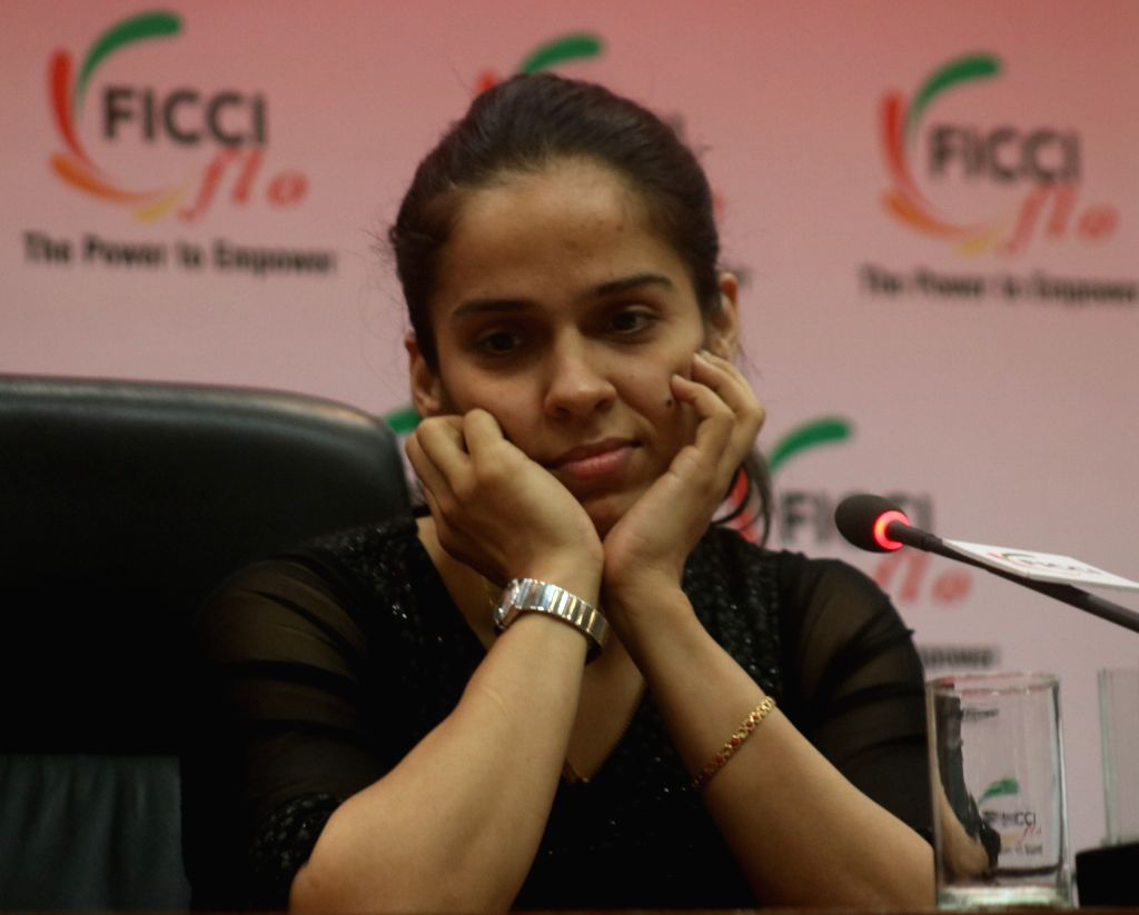 Indian badminton player Saina Nehwal (Photo: Bidesh Manna/IANS)