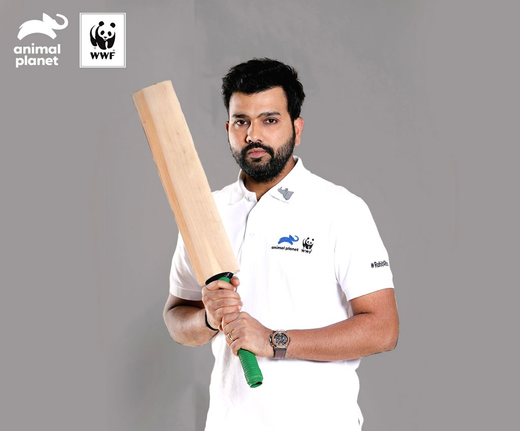 Indian batsman Rohit Sharma is launching Rohit4Rhinos campaign, in partnership with WWF India and Animal Planet, to help build awareness for the need to conserve the Greater One-Horned Rhinoceros or the Indian Rhino. - Rohit Sharma