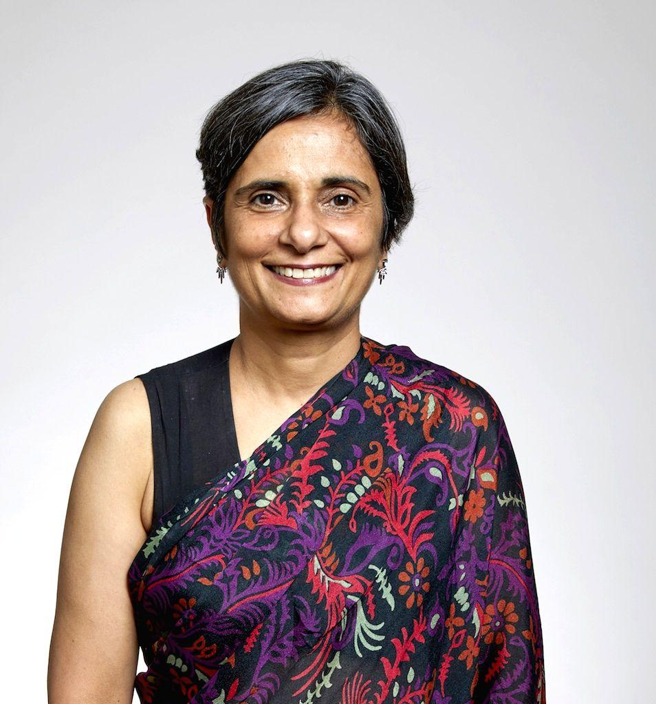 Indian biologist Gagandeep Kang at the Royal Society ceremony in London (Credit: Royal Society)