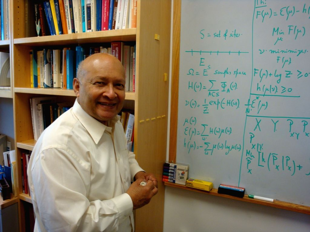 Indian-born Stanford University Professor Thomas Kailath, who won the Marconi Society's Lifetime Achievement Award in the US for his outstanding contribution to modern communications. (File Photo: ...