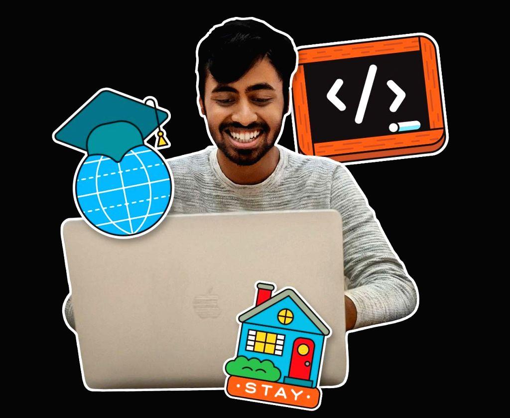 Indian boy who created Covid-19 tool among Apple student challenge winners.