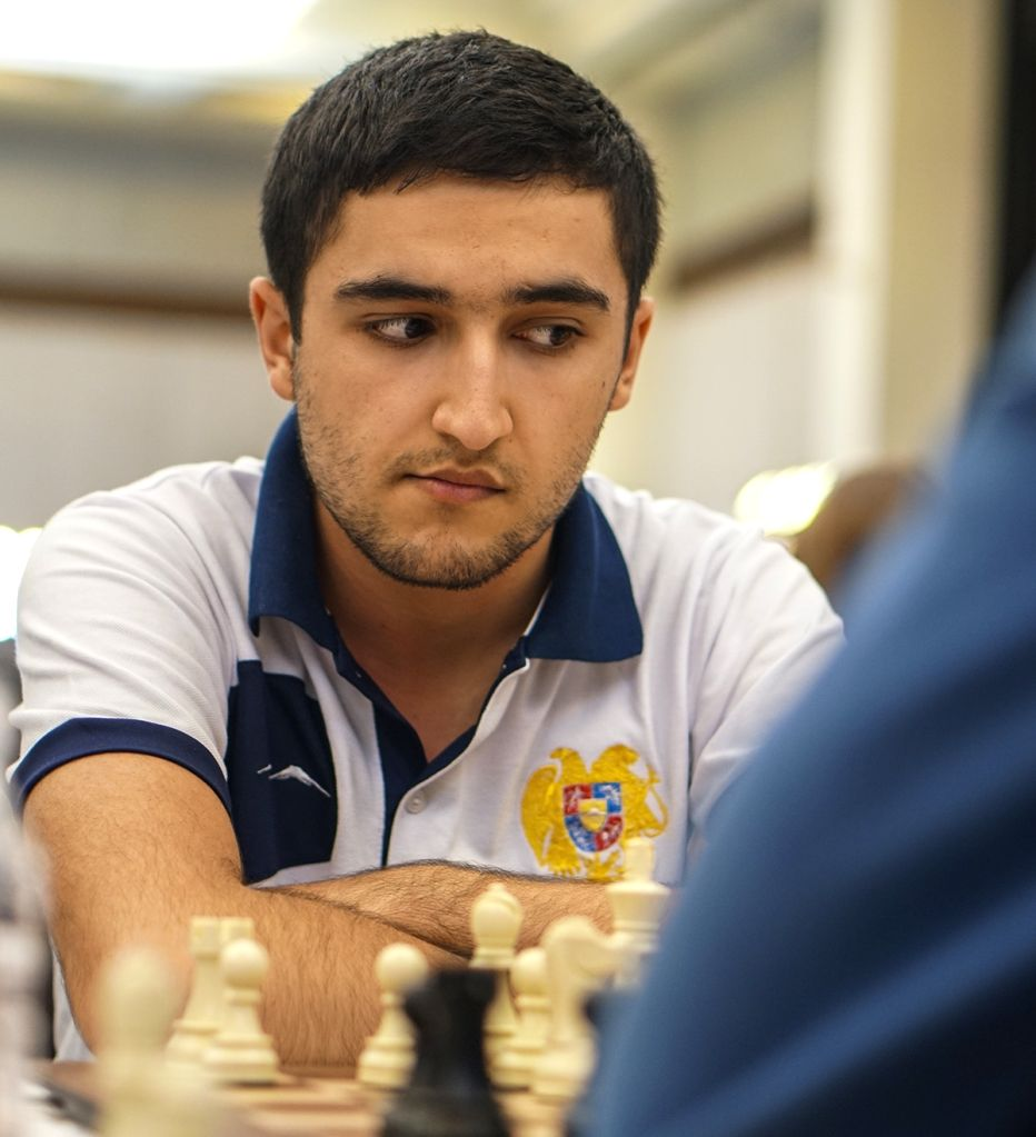Indian chess player Shant Sargsyan in action during World Youth Chess Championship 2019 in Mumbai on Oct 10, 2019.