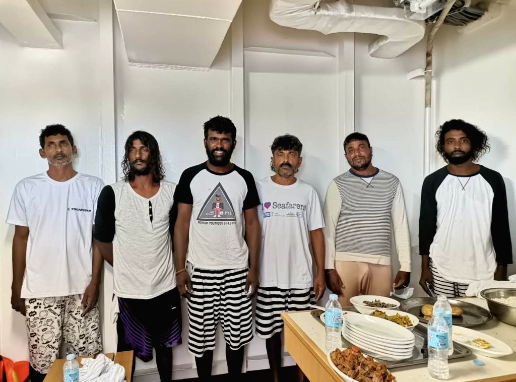 Indian Coast Guard???s Maritime Rescue Coordination Centre (MRCC), Chennai successfully coordinated the rescue operation of six Sri Lankan fishermen amidst rough seas, on July 5, 2020. A ...