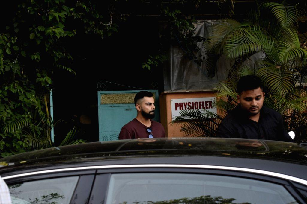 Indian cricket captain Virat Kohli seen at Versova in Mumbai on Sept 18, 2018. - Virat Kohli