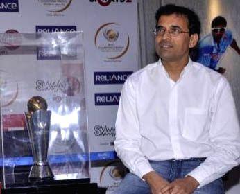 Indian cricket commentator Harsha Bhogle.
