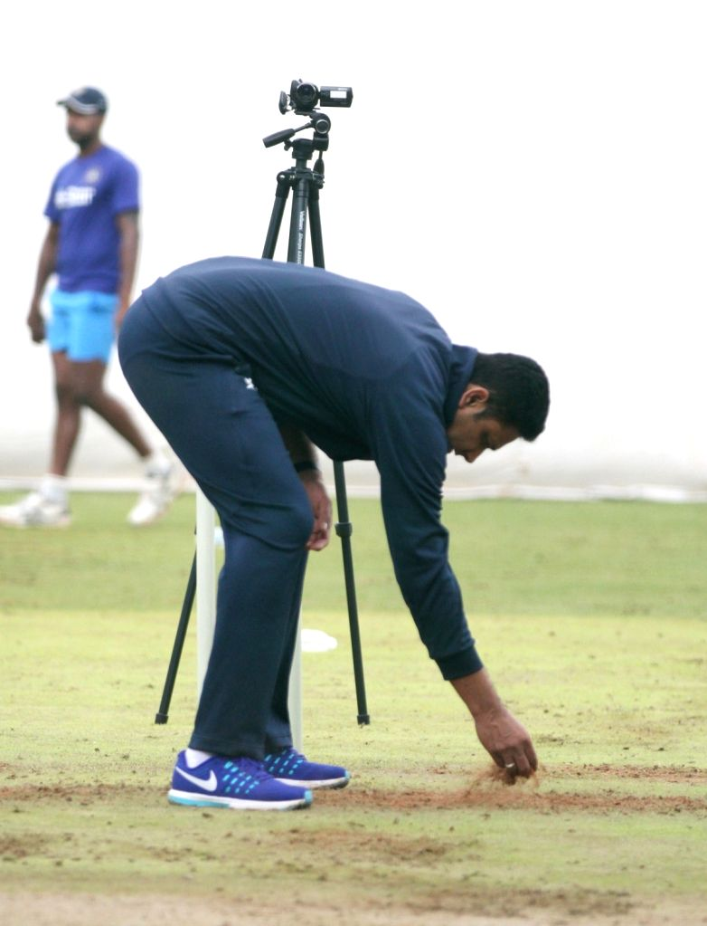 Indian cricket team head coach Anil Kumble during a preparatory camp ahead of  West Indies tour at National Cricket Academy at Chinnaswamy Stadium, in Bengaluru on June 30, 2016.
